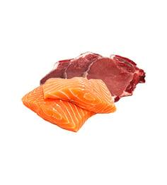 Gaļa, zivis