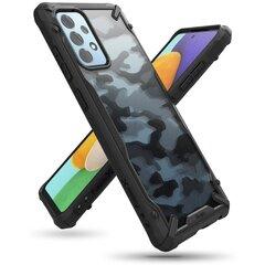 Telefona vāciņš Ringke Fusion X Camo priekš Samsung Galaxy A52 5G / A52, melns cena un informācija | Maciņi, somiņas | 220.lv
