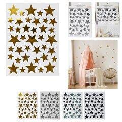 Sienas uzlīmes - zvaigznes cena un informācija | Dekoratīvās uzlīmes | 220.lv
