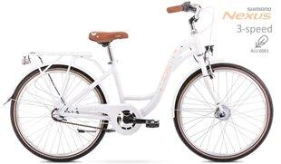 "Bērnu velosipēds Romet Panda 2 24"" Alu 2021, balts cena un informācija | Bērnu velosipēds Romet Panda 2 24"" Alu 2021, balts | 220.lv"