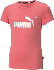 Puma Blūze Ess Logo Tee Pink cena un informācija | T-krekli sievietēm | 220.lv