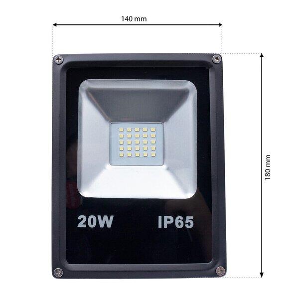 Eko-Light LED Prožektors 20W 3000K
