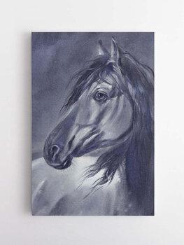 Foto glezna Zirgs, 60x90cm cena un informācija   Gleznas   220.lv