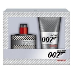 Komplekts James Bond 007 Quantum: edt 50 ml + dušas želeja 150 ml