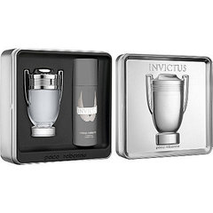 Komplekts Paco Rabanne Invictus: edt 100 ml + dezodorants 150 ml