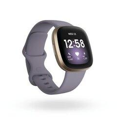 Fitbit Versa 3, Soft Gold/Thistle cena un informācija | Viedpulksteņi (smartwatch) | 220.lv