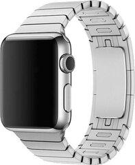 Devia Elegant Series Link aproce piemērota Apple Watch (44mm), Sudrabaina cena un informācija | Devia Elegant Series Link aproce piemērota Apple Watch (44mm), Sudrabaina | 220.lv