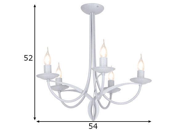 Griestu lampa Cyfra, pelēka, 5x 40 W cena