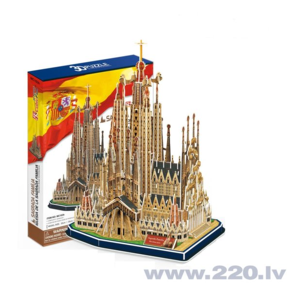 CubicFun 3D пазл Cologne Cathedral MC160h