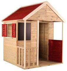 Bērnu rotaļu namiņš Emilia, M5, masīvkoks cena un informācija | Bērnu rotaļu namiņš Emilia, M5, masīvkoks | 220.lv