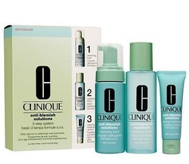 Комплект Clinique Anti-Blemish Solutions 3-Step System