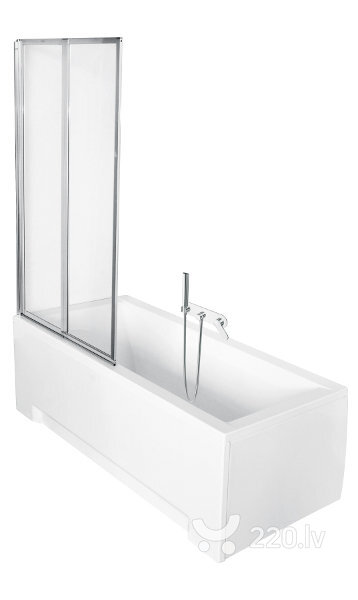 Mobila vannas stikla siena Ambition 2 Premium