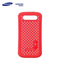 Samsung SAMGSVCRD Тонкий перфорированный Чехол-крышка i9300 Galaxy S3 Красный (EU Blister) цена и информация | Кошельки и сумочки для мобильных телефонов | 220.lv