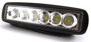 Universālā papildu lampa 18W LED6