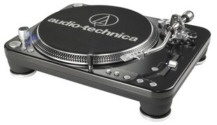 """Audio Technika AT-LP1240-USB Professional DJ Direct-Drive Turntable (USB &amp"