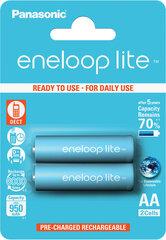 Panasonic Eneloop Lite AA 950 mAh (HR06) 2gb. Blistera iepakojumā
