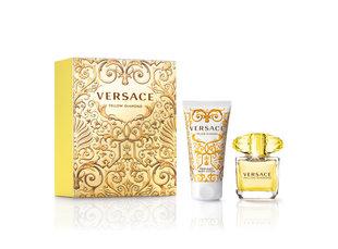 Komplekts Versace Yellow Diamond edt 30 ml + ķermeņa losjons 50 ml