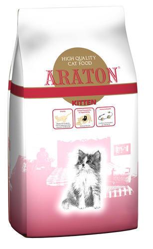 Sausa barība kaķiem ARATON Kitten 0,4 kg