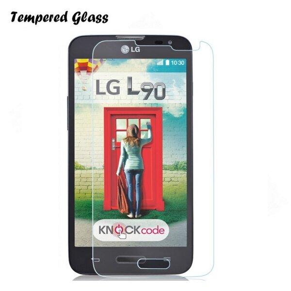 Tempered Glass бронированное стекло для защиты экрана мобильного телефона LG D405 Optimus L90