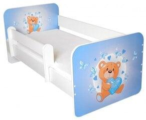Bērnu gulta ar matraci un noņemamu maliņu Ami 17, 140x70 cm cena un informācija | Bērnu gulta ar matraci un noņemamu maliņu Ami 17, 140x70 cm | 220.lv