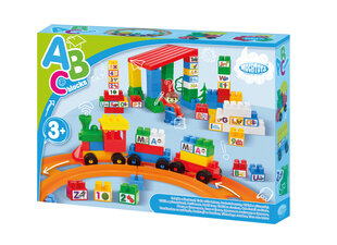 Конструктор Train with letters Mochtoys