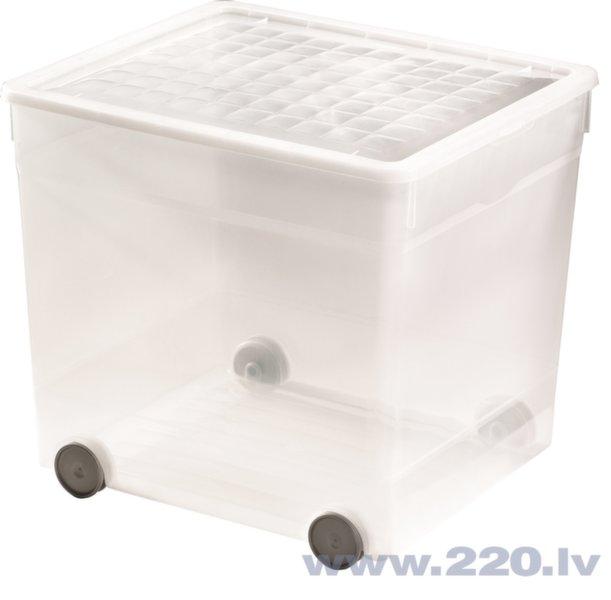Curver kaste ar riteņiem 33L