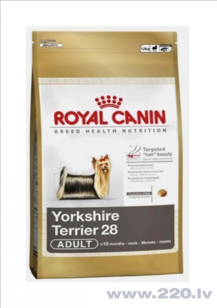 Royal Canin Yorkshire Terrier 28 Adult 7,5 kg