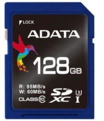 ADATA Premier Pro SDXC UHS-I U3 128GB (Video Full HD) Retail