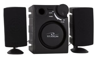 TITANUM Speakers 2.1 CANTO TP101 цена и информация | Skaļruņi | 220.lv