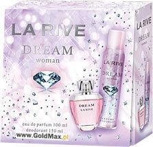 Комплект La Rive Dream: edp 100 мл + дезодорант 150 мл