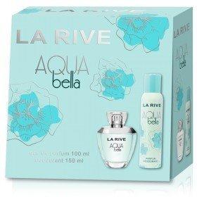 Komplekts La Rive Aqua Bella: edp 100 ml + dezodorants 150 ml
