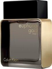 Tualetes ūdens Calvin Klein Euphoria Gold edt 100 ml cena un informācija | Vīriešu smaržas | 220.lv