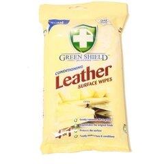 GREEN SHIELD salvetes ādas virsmu tīrīšanai, 50 gab. cena un informācija | Tīrīšanas līdzekļi | 220.lv
