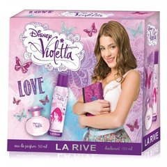 Komplekts La Rive Violetta Love: edp 50 ml + dezodorants 150 ml