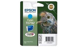 Ink Epson T0792 cyan | Stylus Photo 1400 cena un informācija | Ink Epson T0792 cyan | Stylus Photo 1400 | 220.lv