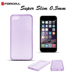 Forcell Ultra Slim 0.3mm super plāns apvalks priekš Apple iPhone 6, violets