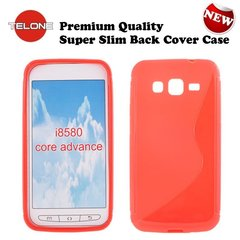 Telone Back Case S-Case gumijots telefona apvalks Samsung i8580 Galaxy Core Advance Koraļu cena un informācija | Telone Back Case S-Case gumijots telefona apvalks Samsung i8580 Galaxy Core Advance Koraļu | 220.lv