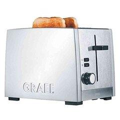 GRAEF. TO80EU Toaster, Inox