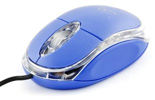 TITANUM Wired Mouse Optical TM102B USB | 1000 DPI |Blue| BLISTER