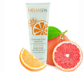 Relaksējošs ķermeņa skrubis ar citrusaugļiem Heliabrine Heliaspa 250 ml
