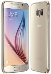 Samsung G920 Galaxy S6 32GB Gold Platinum (Золотой) цена и информация | Мобильные телефоны | 220.lv