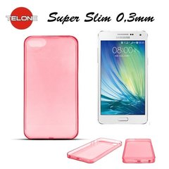 Telone Ultra Slim 0.3mm Back Case Samsung A500 Galaxy A5 super plāns telefona apvalks Koraļu