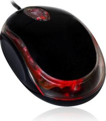 VAKOSS Optical Mouse USB 3D, 1000dpi Blupop BM200 black