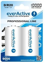 "Baterijas everActive D ""Ready to Use"""