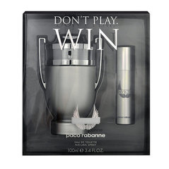 Komplekts Paco Rabanne Invictus: edt 100 ml + mini