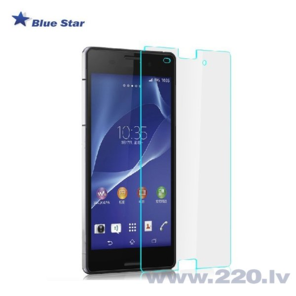 BS Tempered Glass 9H Extra Shock Aizsargplēve-stikls Sony D6603 Xperia Z3 (EU Blister)