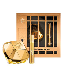 Комплект Paco Rabanne Lady Million: edp 50 мл + мини