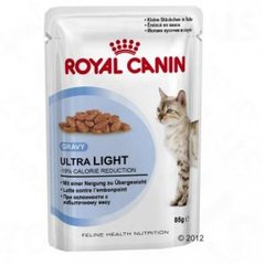 Kaķu barība Royal Canin Ultra Light Pouch 85 g