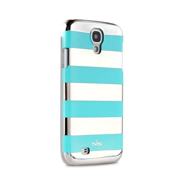 Aizmugures apvalks Puro SGS4STRIPELBL, telefonam Samsung Galaxy S4 cena