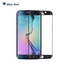 Защитная пленка-стекло BS Tempered Glass 9H Extra Shock Full Face для Samsung G925 Galaxy S6 Edge Черное